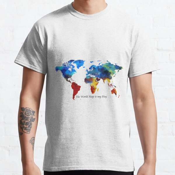 Wanderlust flag Classic T-Shirt