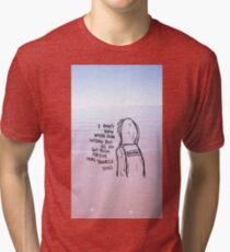 Fall Out Boy - Donnie, What a Catch Tri-blend T-Shirt