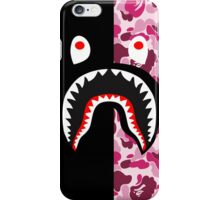 shark black pink iPhone Case/Skin