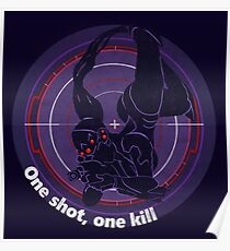 One shot, one kill Poster