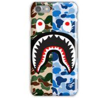 shark army blue iPhone Case/Skin