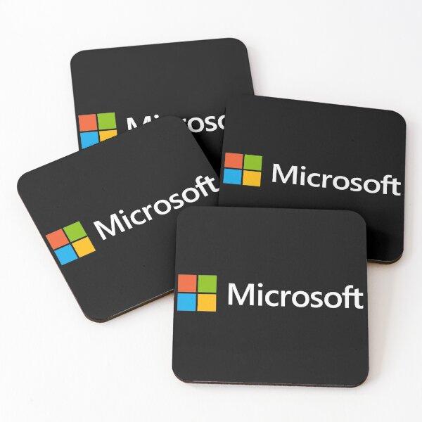 Logo of Microsoft Coasters (Set of 4)