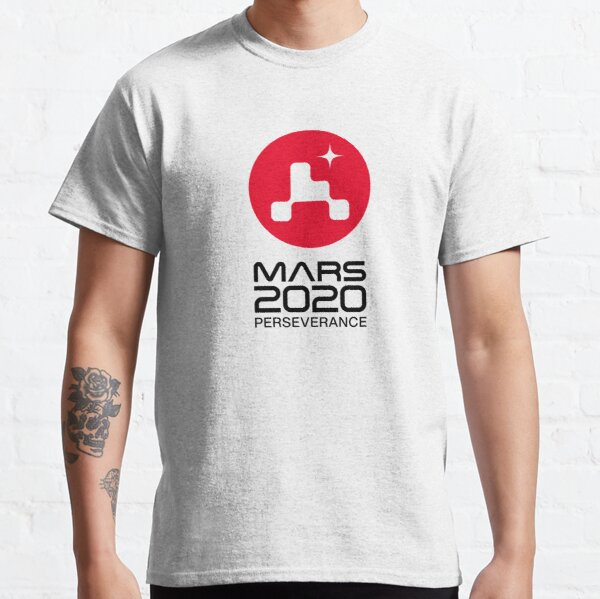 Mars 2020 Perseverance Logo - Stacked Classic T-Shirt