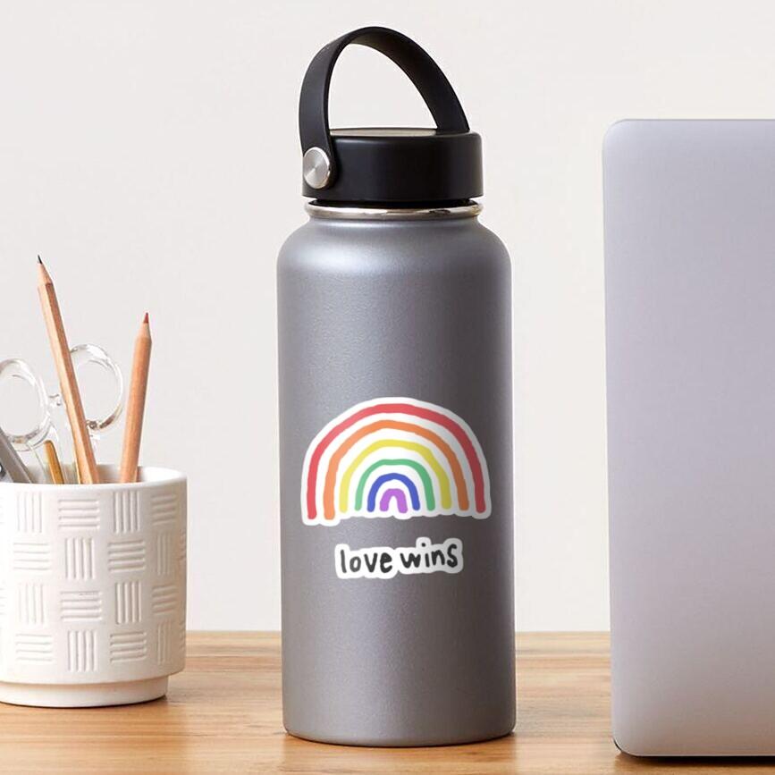 LGBTQA+  PRIDE [Love Wins] Sticker