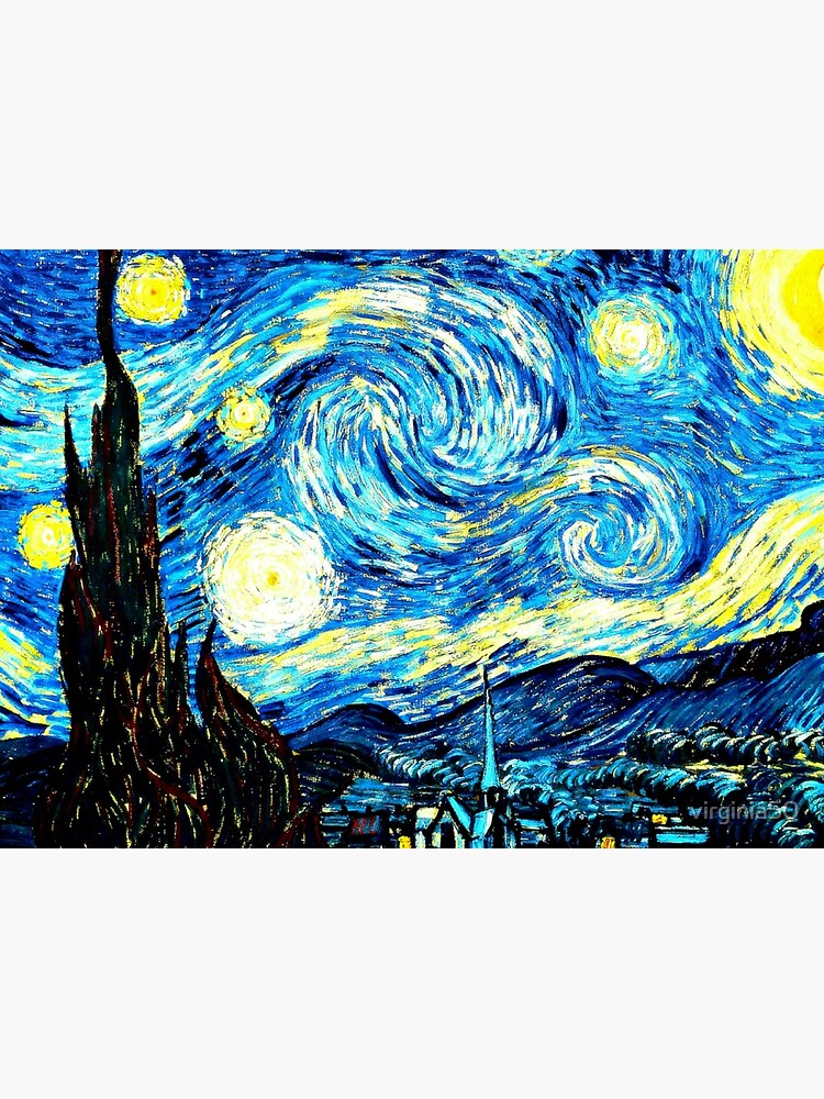 Van Gogh - Starry Night, famous painting by virginia50