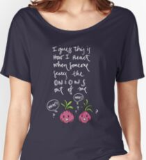 Onions (white) Women's Relaxed Fit T-Shirt
