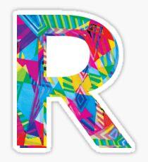 Fun Letter - R Sticker