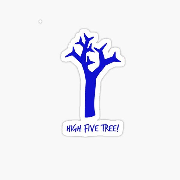 High Five Tree Sticker