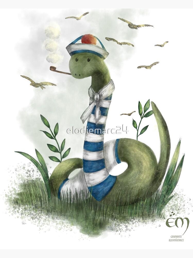 «Le Serpent Marin» par elodiemarc24