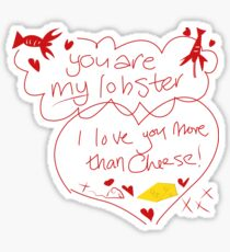You're my lobster Sticker