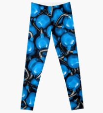 Kettlebells BLUE Leggings