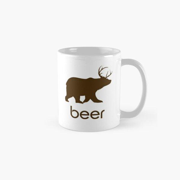 Beer Bear and Deer Coffee Mug Classic Mug