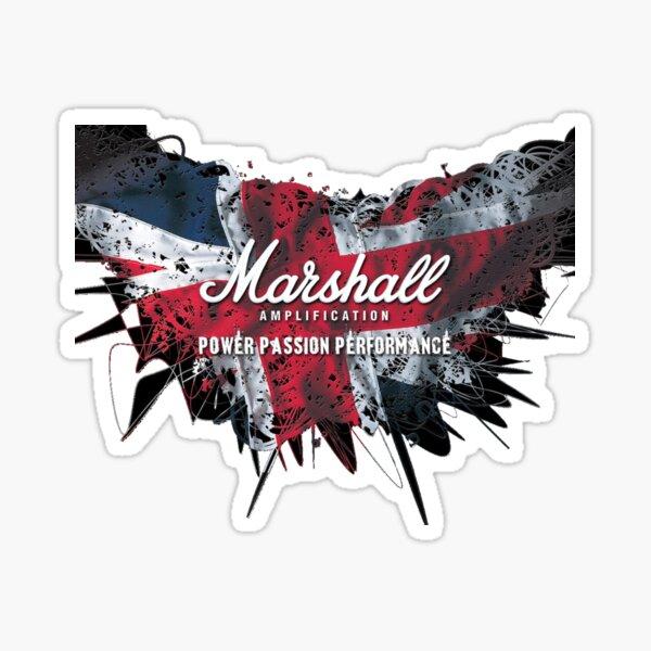 Marshall Guitar Amplifier Sticker