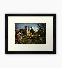 Goring on Thames Village Framed Print