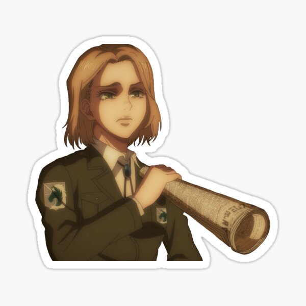 Hitch dreyse in aot s4 Sticker