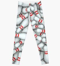 Bowling pins Leggings