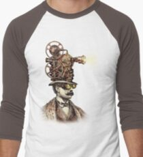 The Projectionist (sepia option) Men's Baseball ¾ T-Shirt