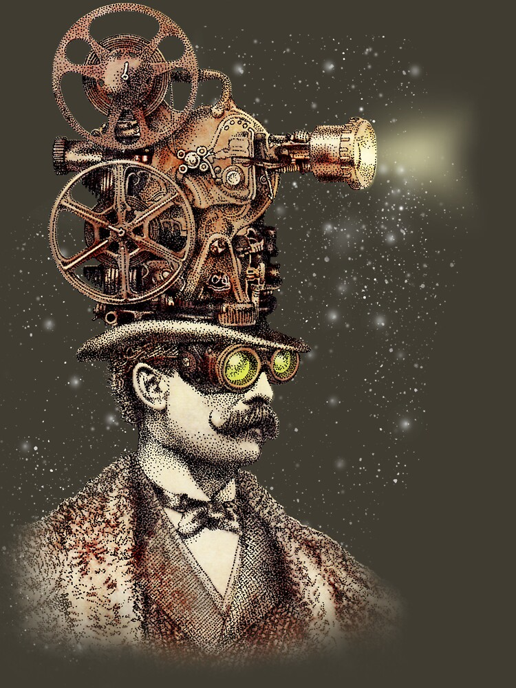 The Projectionist (sepia option) by opifan