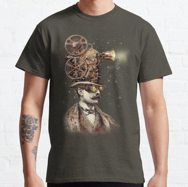 El proyeccionista (opción sepia) Camiseta clásica