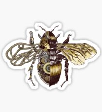Clockwork Bee Sticker
