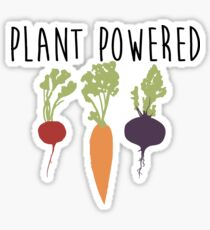 Plant Powered - Vegan Sticker