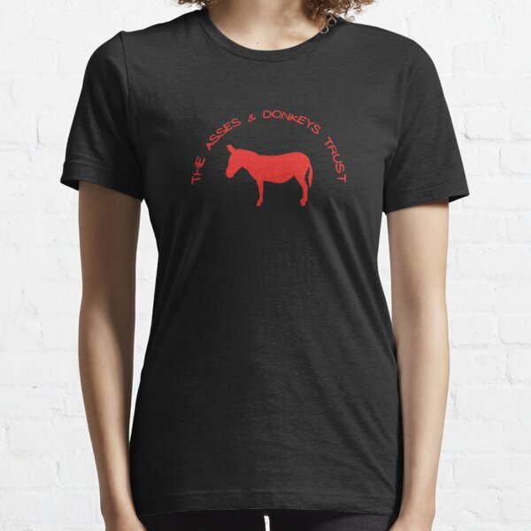 The Asses and Donkeys Trust Badge , Belinda Blinked  Essential T-Shirt