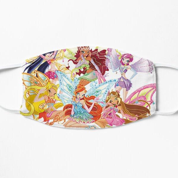 winx club cartoon Flat Mask
