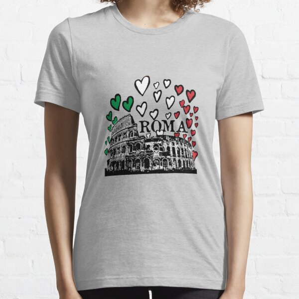 Roma flying hearts Essential T-Shirt