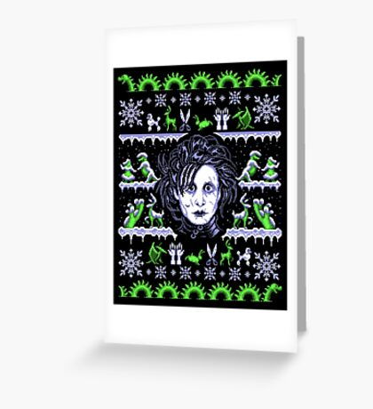 Edward Sweaterhands Greeting Card