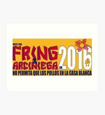 Fring in 2016 Art Print