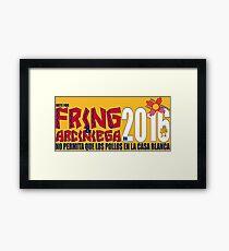 Fring in 2016 Framed Print
