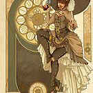 Steampunk Nouveau  by aunumwolf42