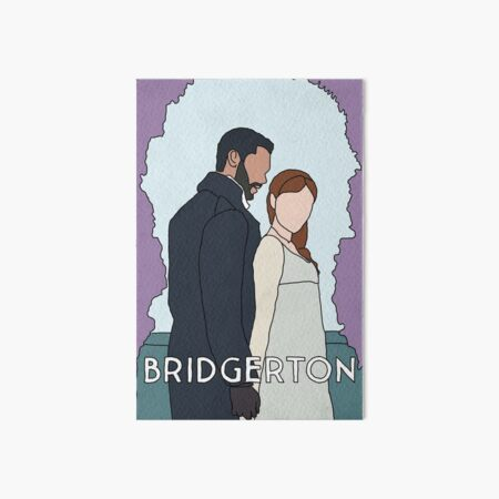 Bridgerton romance - Duchess and the Duke Art Board Print