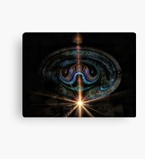 Creature From A Dark Planet Canvas Print
