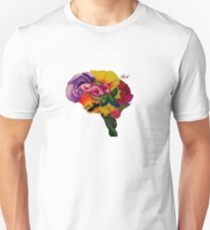 Floral Brain Unisex T-Shirt