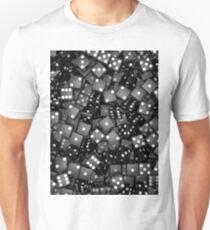 Black dice Unisex T-Shirt