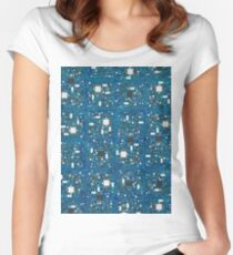 Blue tech Women's Fitted Scoop T-Shirt