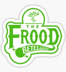 The Frood Sticker