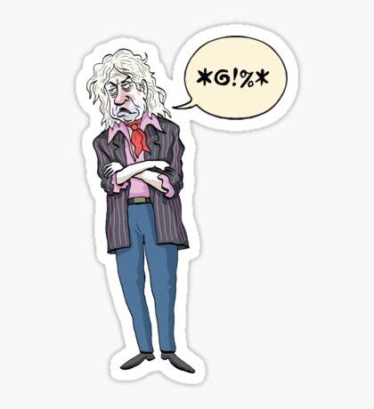 Sir Gob Beldof Sticker