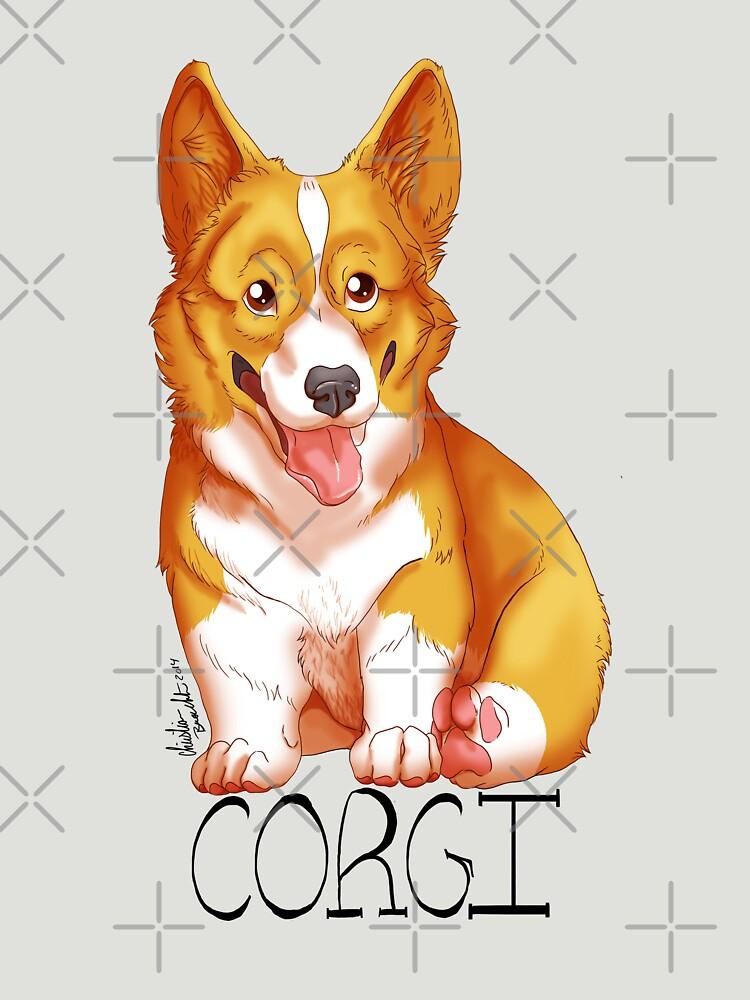 Corgi Love by aunumwolf42