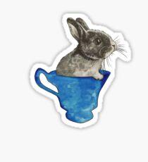 Follow The White Rabbit Sticker