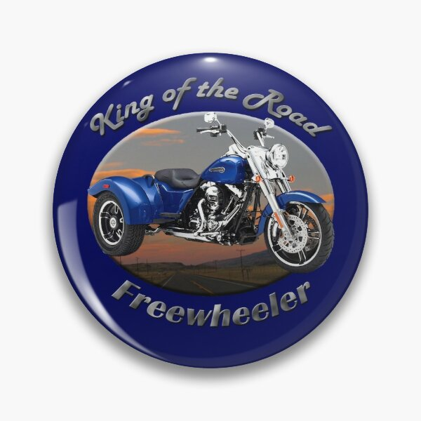 Harley Davidson Freewheeler King Of The Road Pin