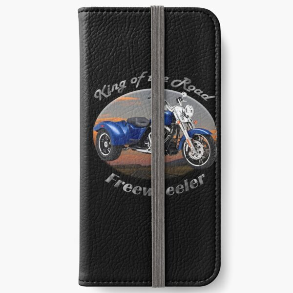 Harley Davidson Freewheeler King Of The Road iPhone Wallet
