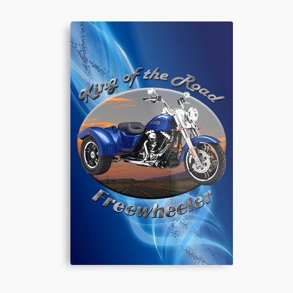 Harley Davidson Freewheeler King Of The Road Metal Print
