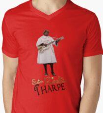 SISTER ROSETTA THARPE ROCK N ROLL V-Neck T-Shirt