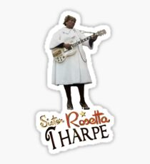 SISTER ROSETTA THARPE ROCK N ROLL Sticker