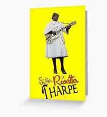 SISTER ROSETTA THARPE ROCK N ROLL Greeting Card
