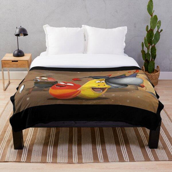 LARVA CARTOON ART Throw Blanket