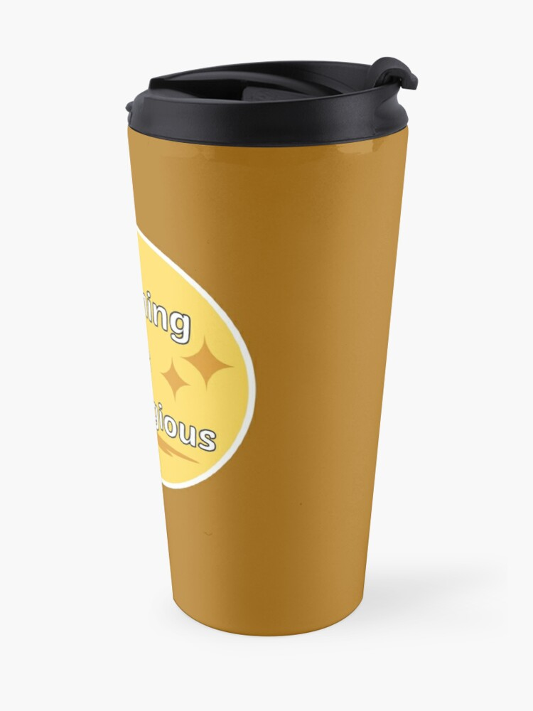 Alternate view of Cleaning is Contagious Retro Housework Housekeeper Gifts Travel Mug