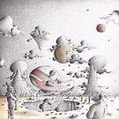 Alien ship by Sebastiaan Koenen
